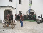 Szent Borbála ünnepére ágyú dördült a lendvai várnál
