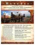 "Heveder Folk Ensemble Presents ""Music and dances from remote villages of Transylvania"""
